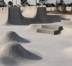 Nuevas instalaciones de baloncesto y skate en el distrito